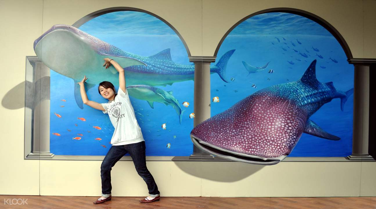 Tokyo Trick Art exhibition in Taichung