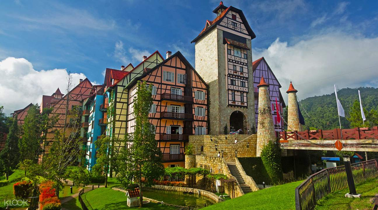 houses and buildings Colmar Tropicale French Village