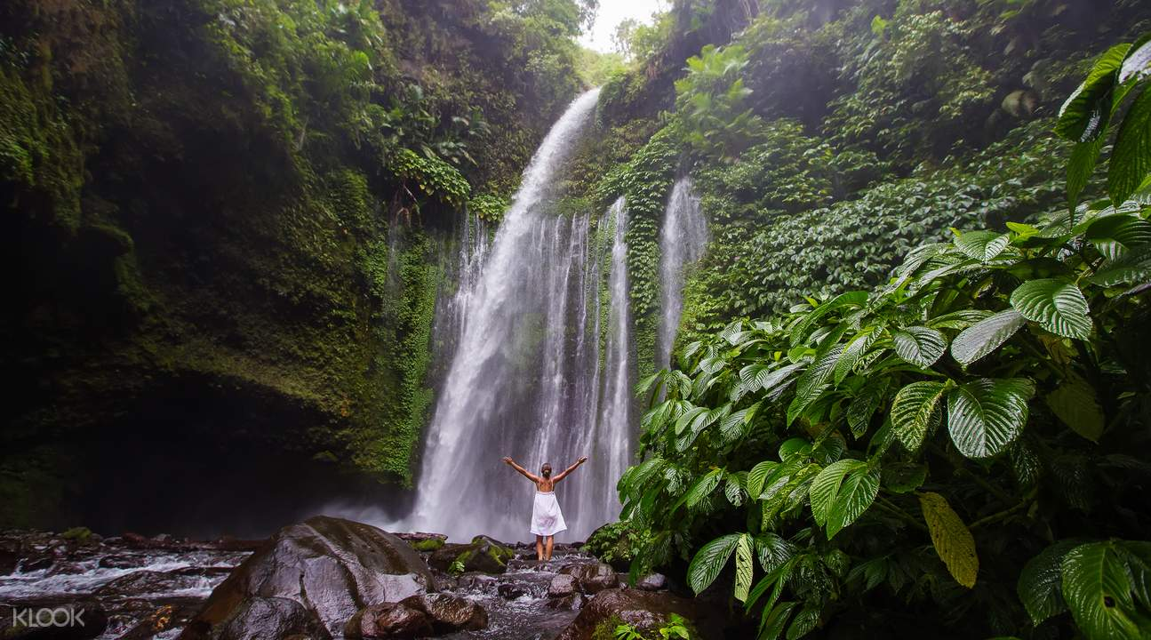 Lombok waterfall tour
