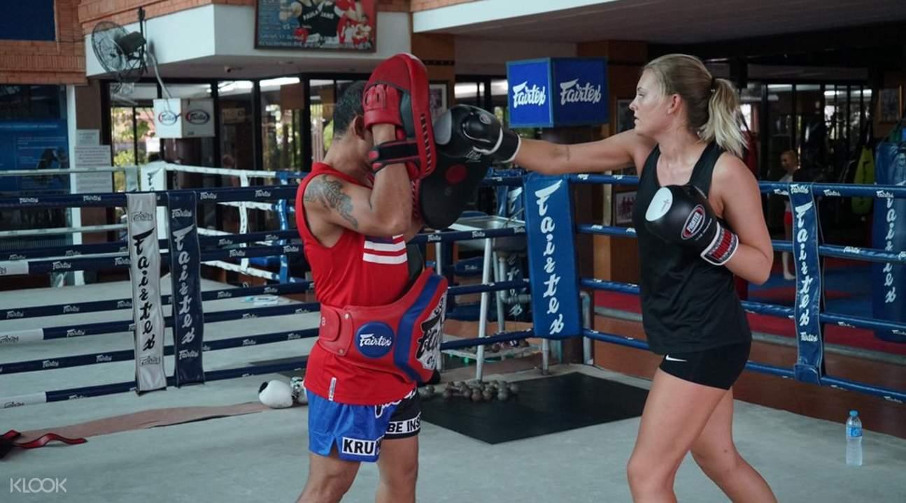 泰國泰拳課程