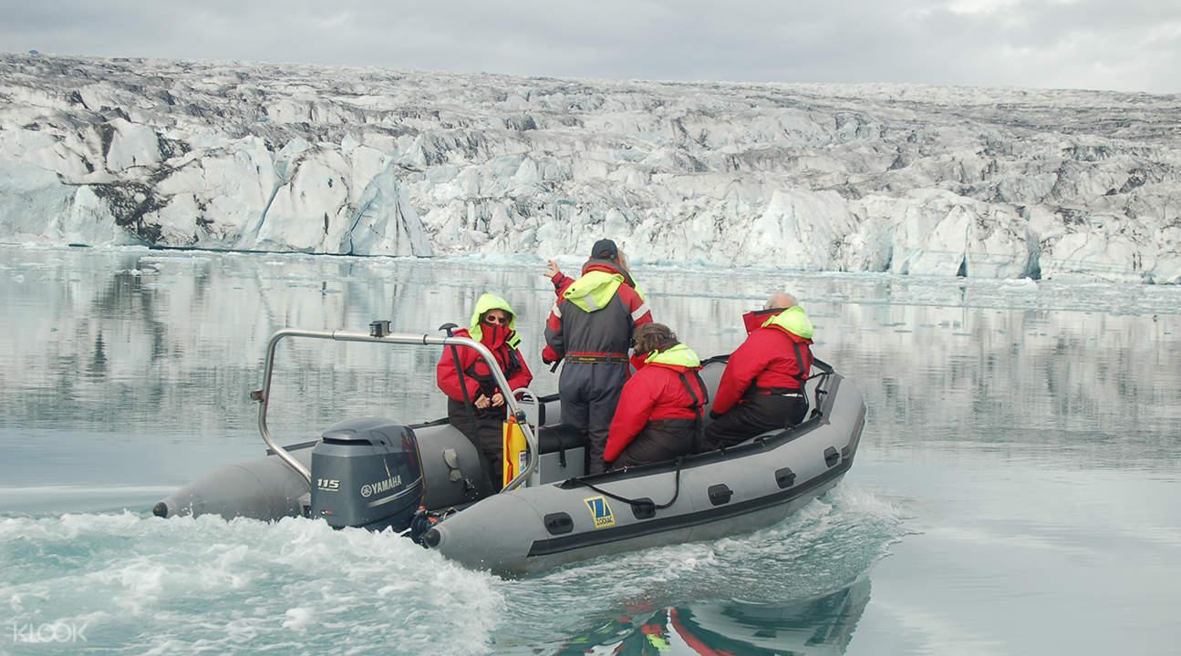 杰古沙龍冰河湖一日遊