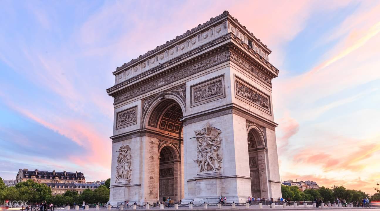 巴黎凱旋門門票