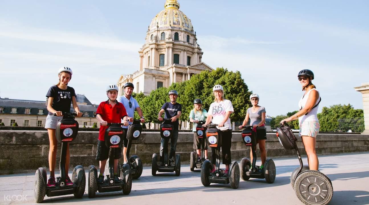 巴黎Segway賽格威平衡車之旅