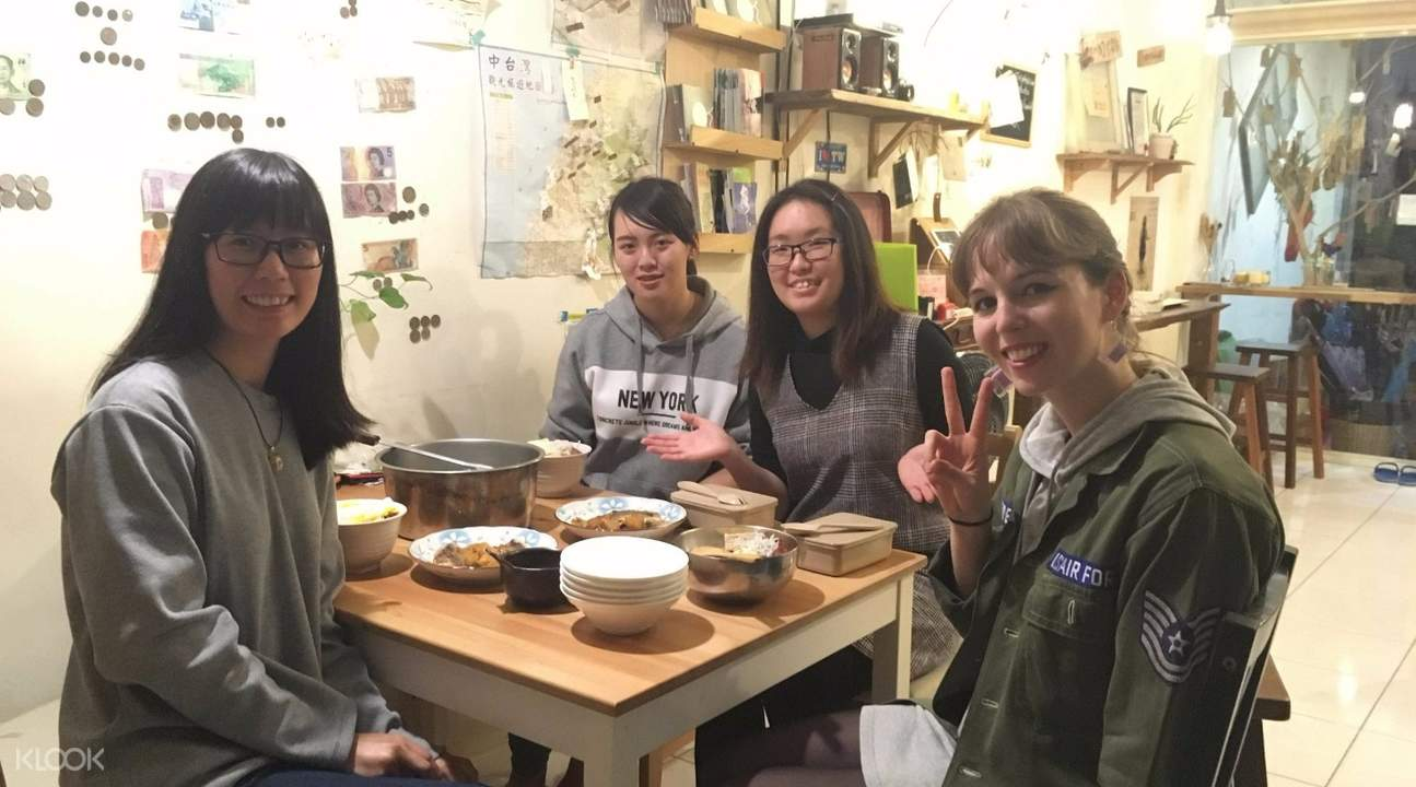 traditional taiwanese cooking class taichung taiwan meal
