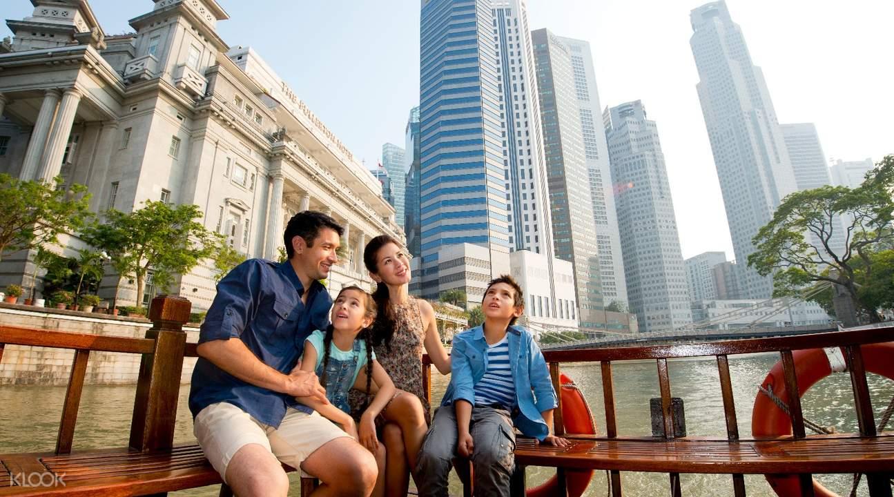 新加坡河步行游览之旅