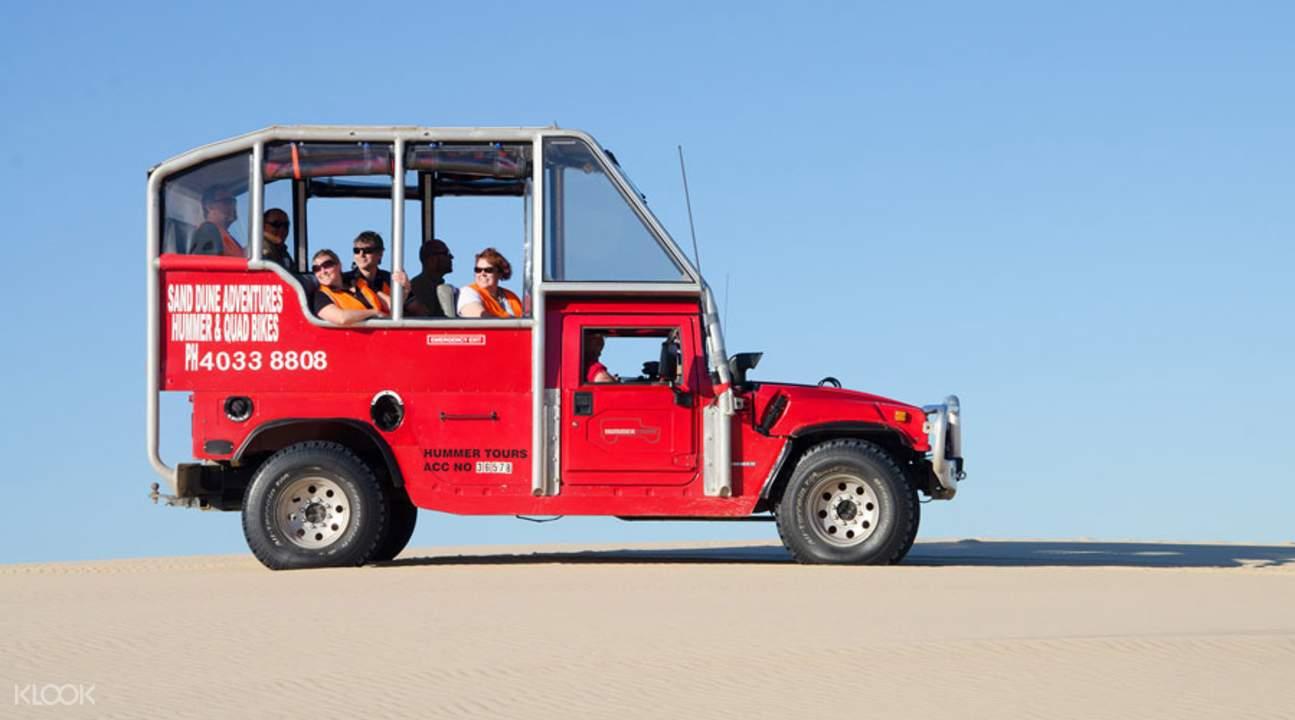 Port Stephens Sand Dune 4WD Hummer Tour
