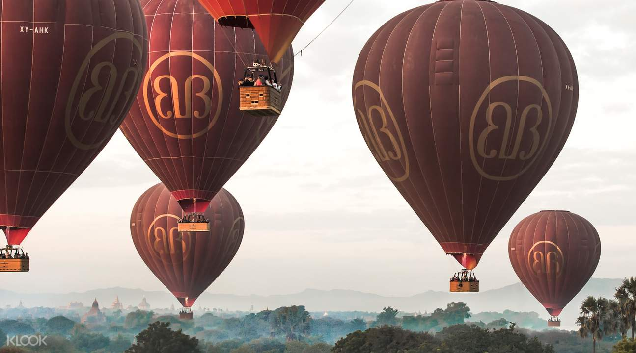 bagan hot air balloon