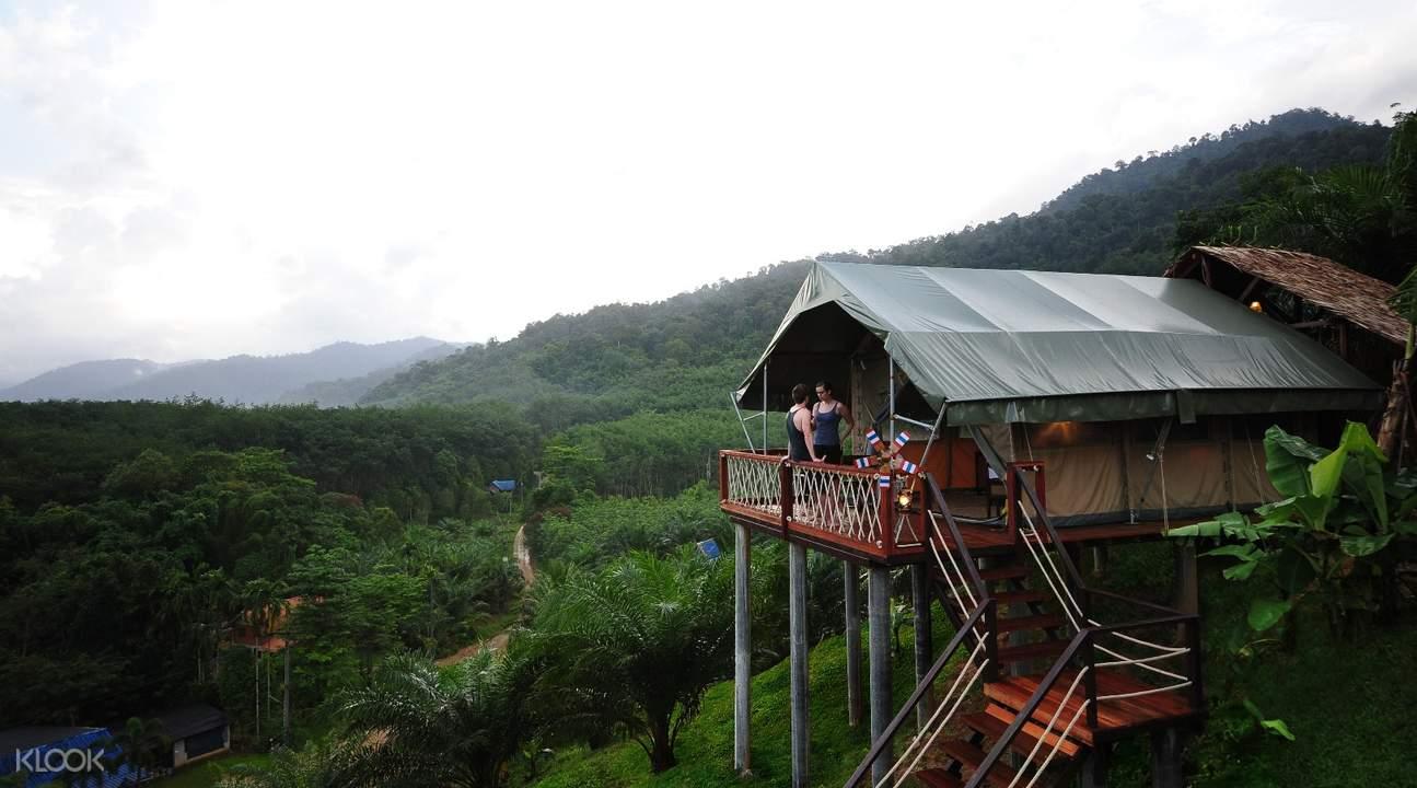 考索精品營地