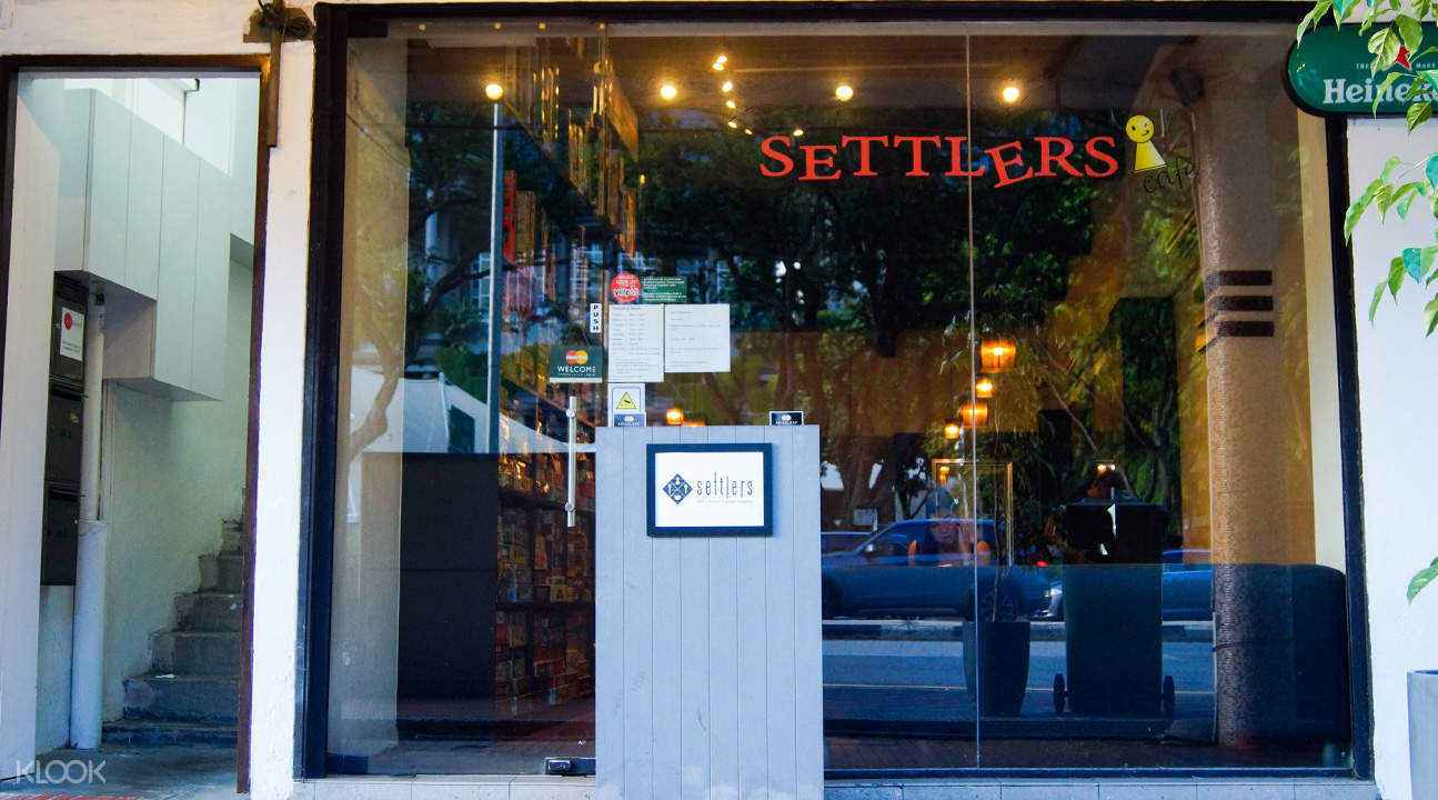 Settlers' Cafe in Clarke Quay