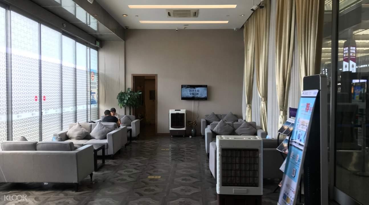上海虹桥高铁贵宾厅
