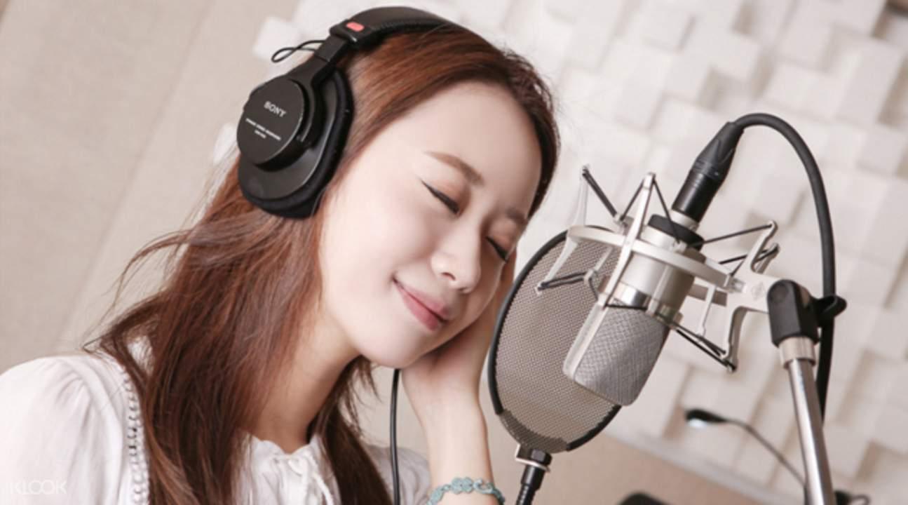 k-pop录音体验