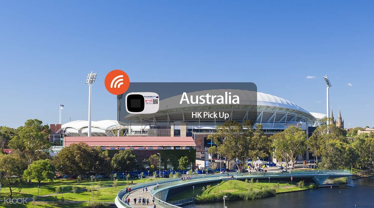 澳洲阿德萊德隨身WiFi
