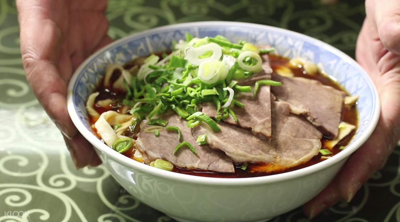 halal beef noodle shop ximen station taipei