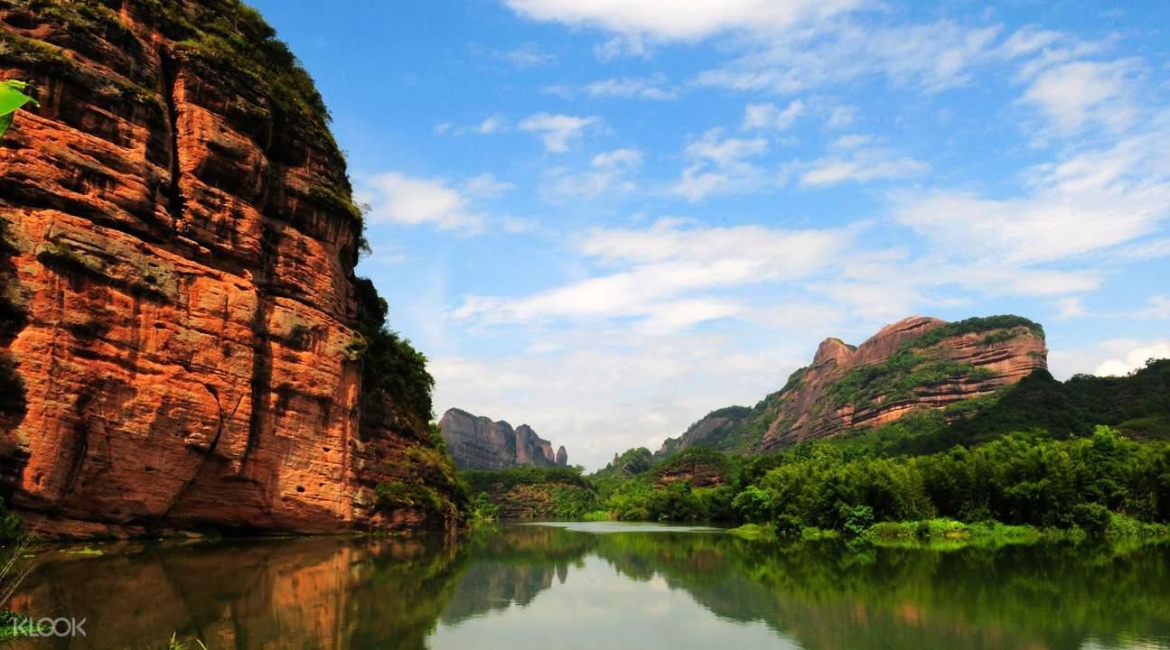 丹霞山地貌