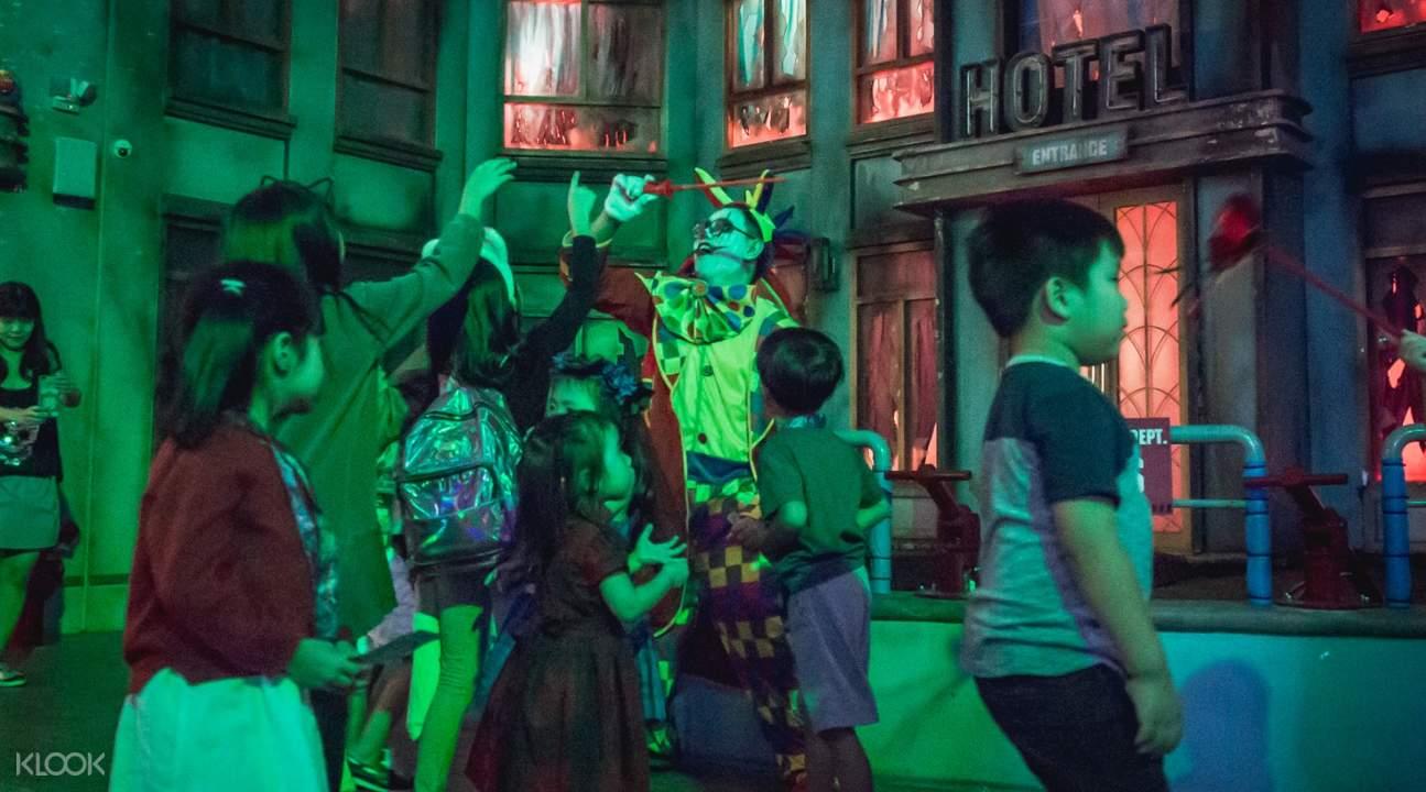 spookytown ticket kidzania singapore