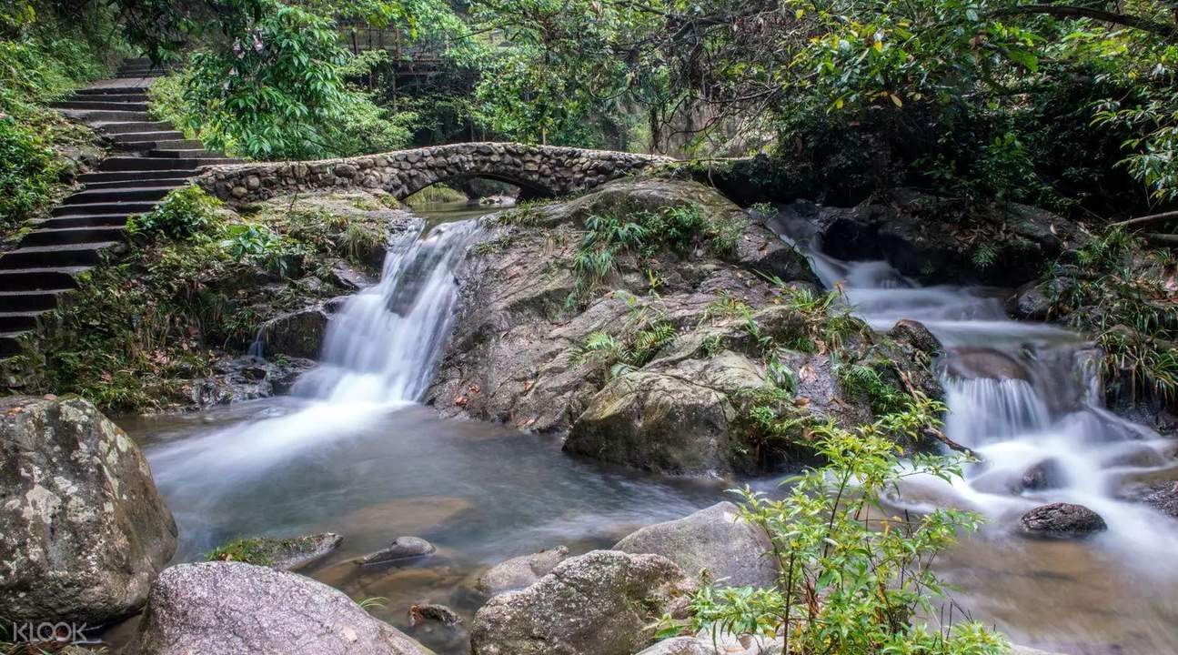 Tianzi Mountain Waterfall Natural Scenic Spot