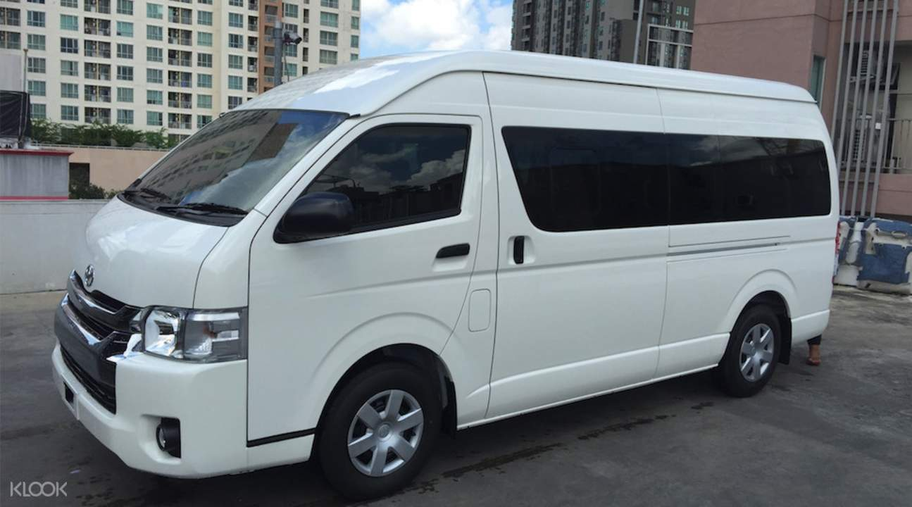 van for groups of 10