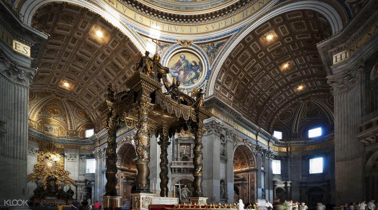 聖伯多祿大殿  優先入場導覽