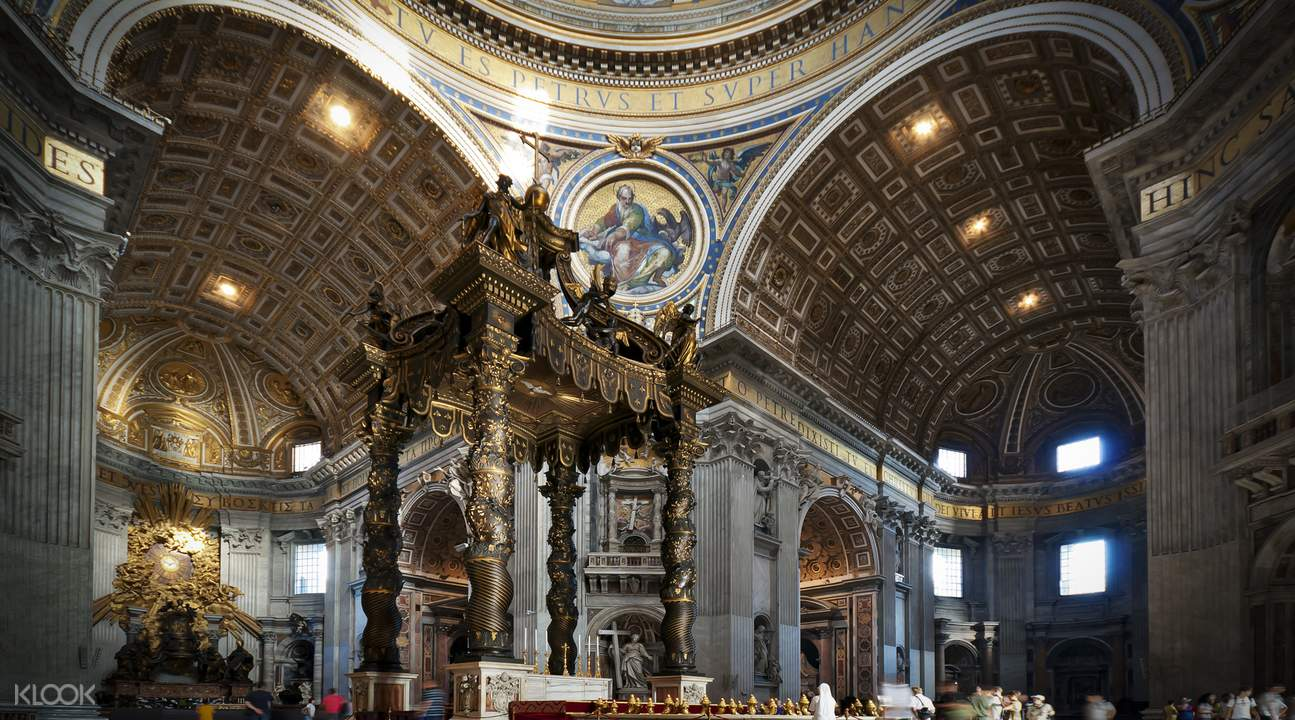 sistine chapel and st peter's basilica vip access