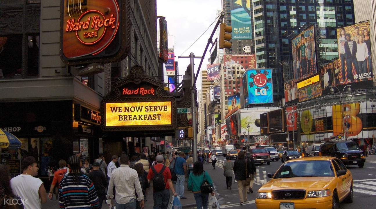 hard rock cafe times square yankees stadium new york
