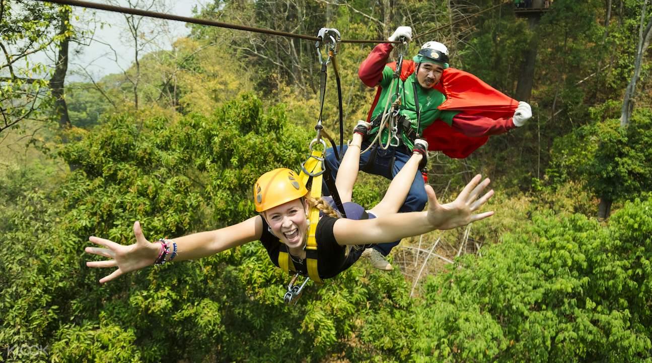 jungle flight zipline adventure