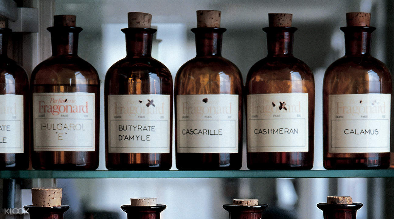 perfume museum bottles