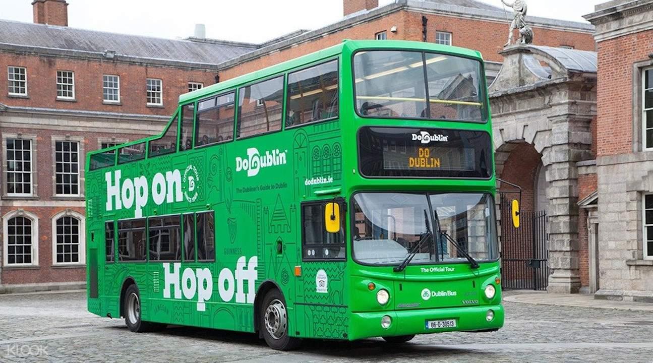 dodublin hop on hop off bus