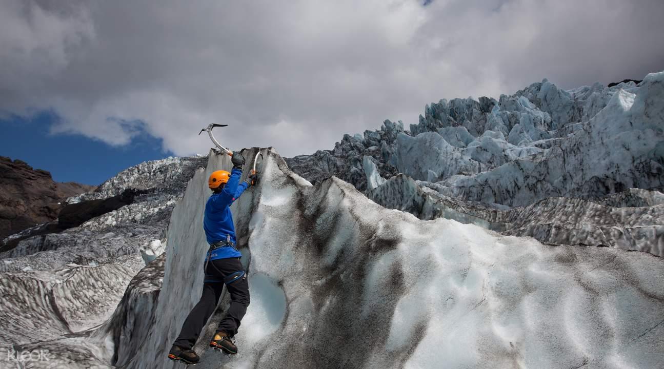 冰島冰原腹地徒步 & 攀冰體驗
