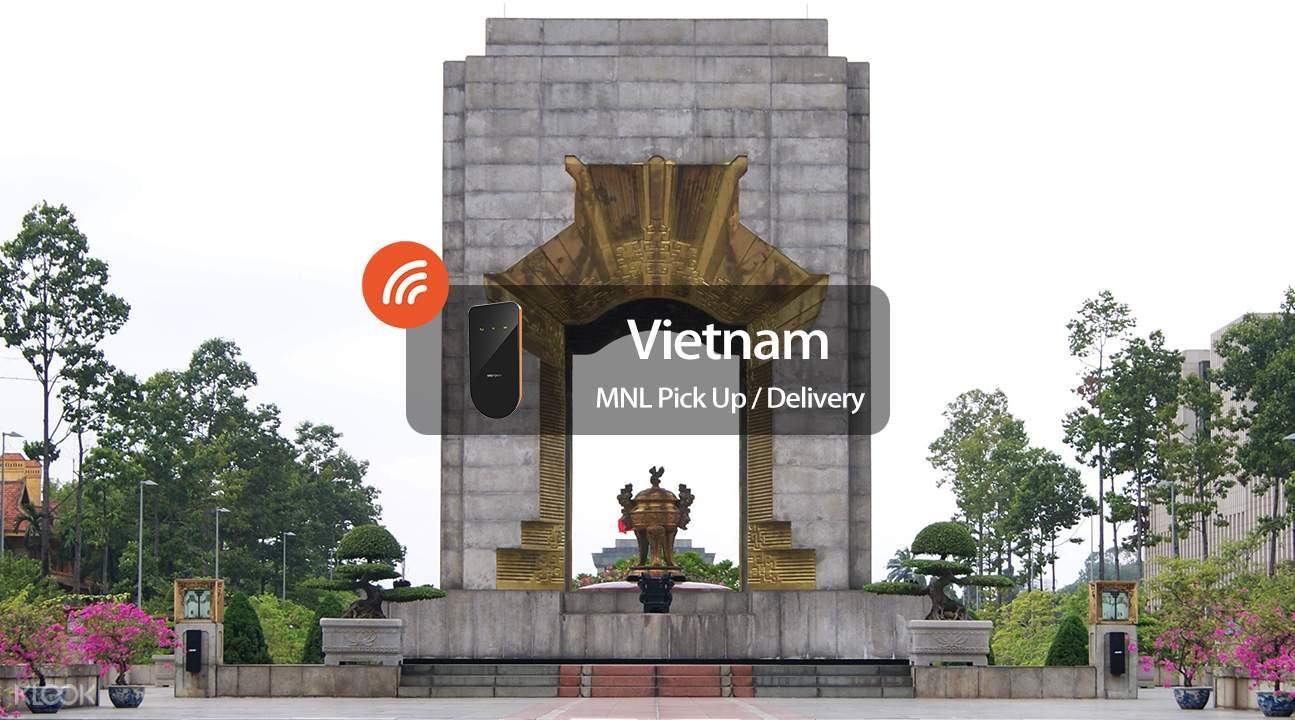 越南3G / 4G隨身WiFi