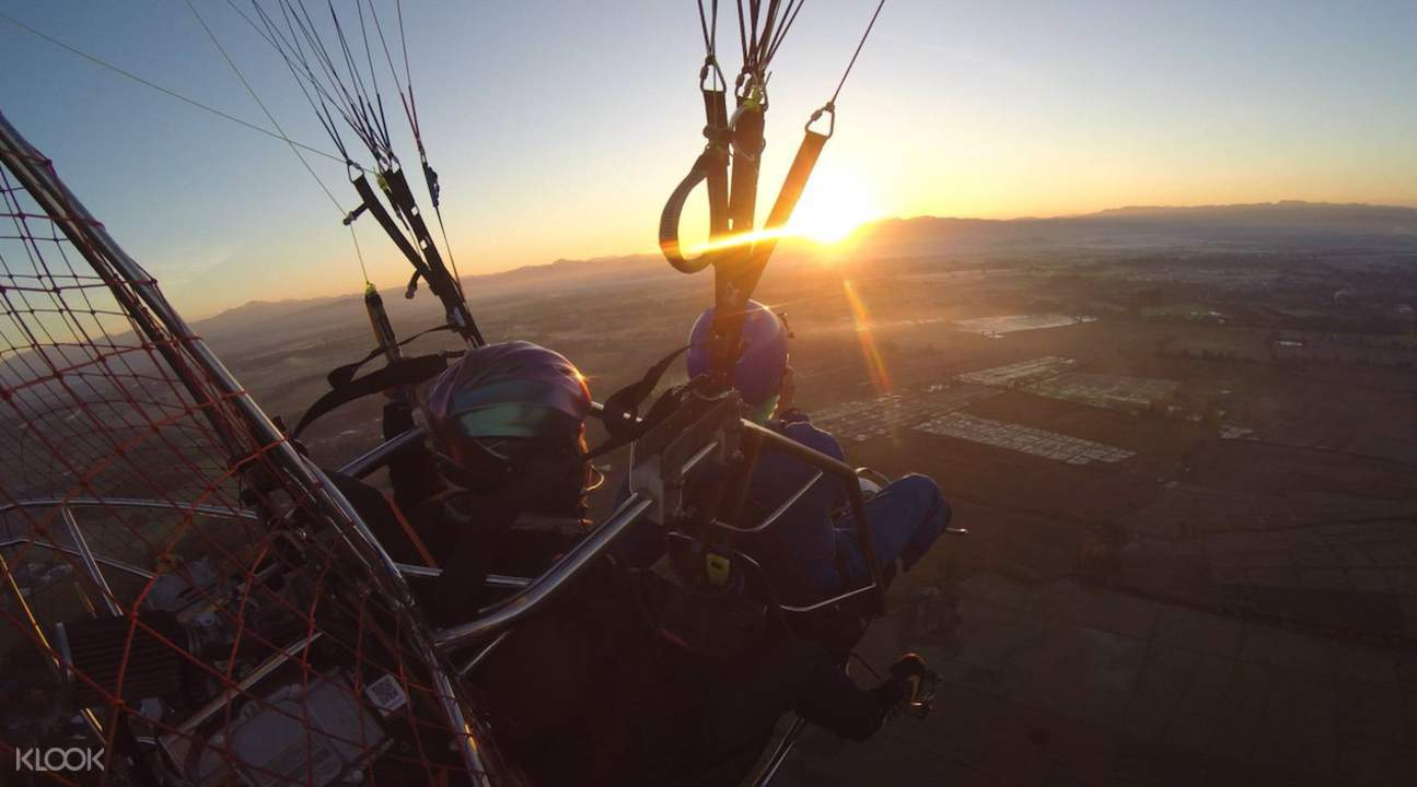清邁動力滑翔傘飛行體驗