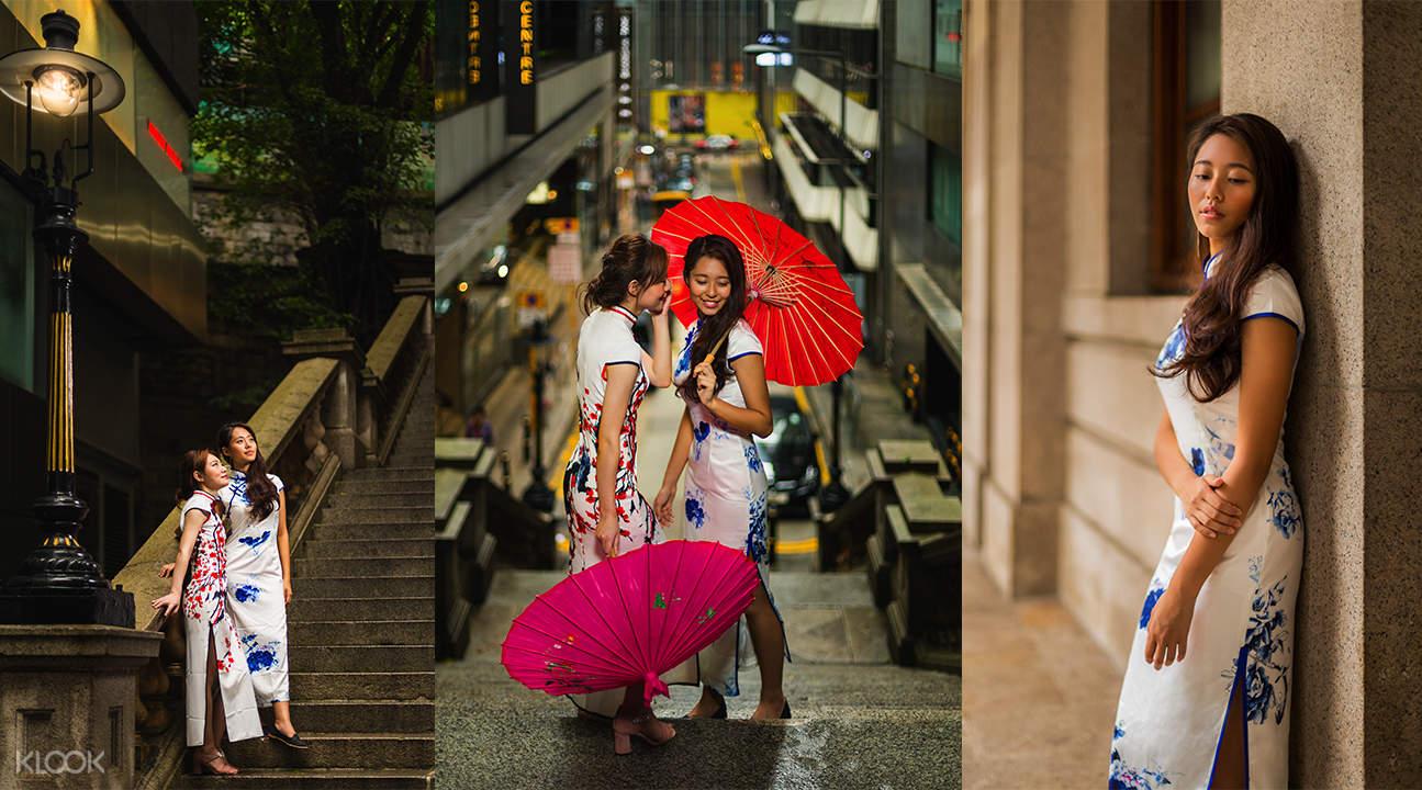 香港旗袍出租