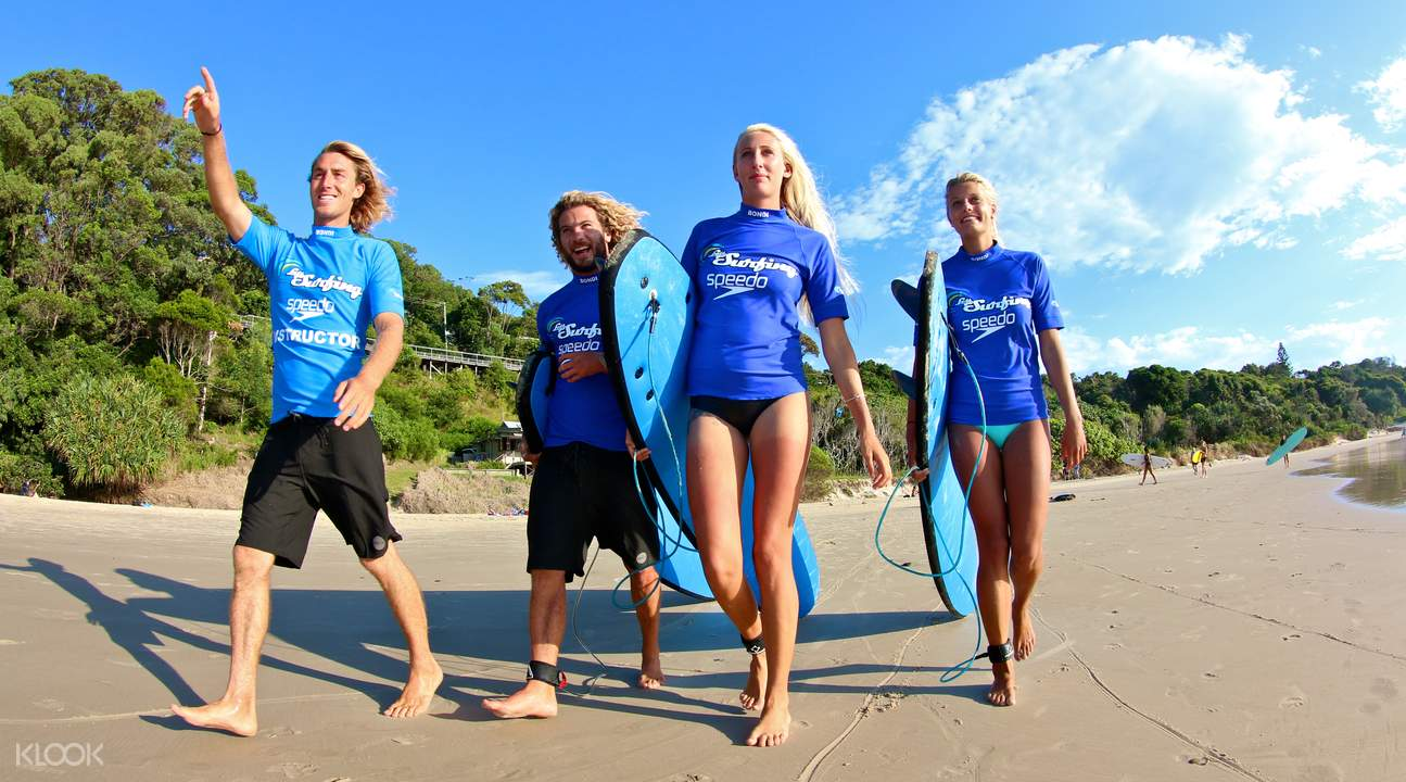 Byron Bay Surf Lesson