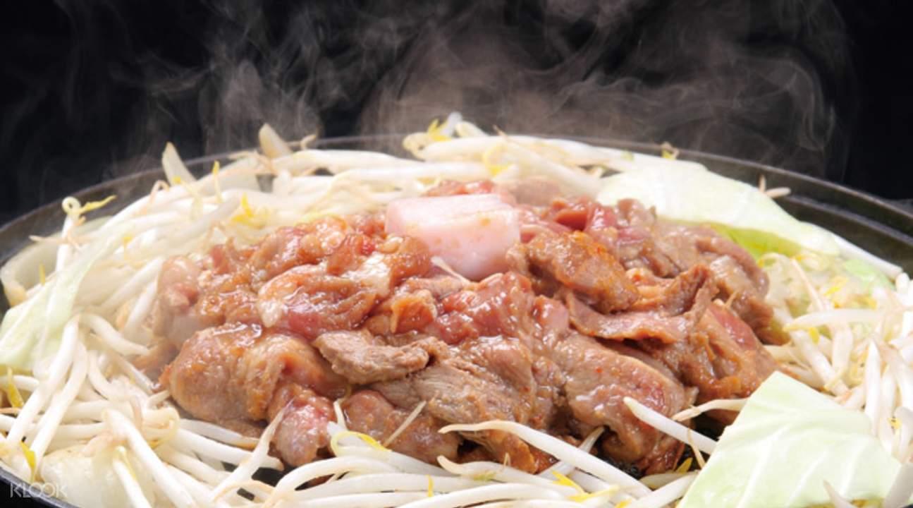 麒麟啤酒園 本館中島公園店 成吉思汗烤羊肉套餐
