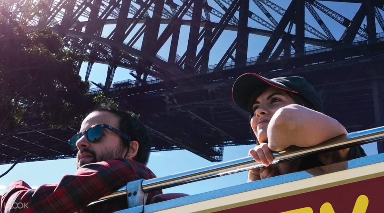 雪梨隨上隨下觀光巴士景點