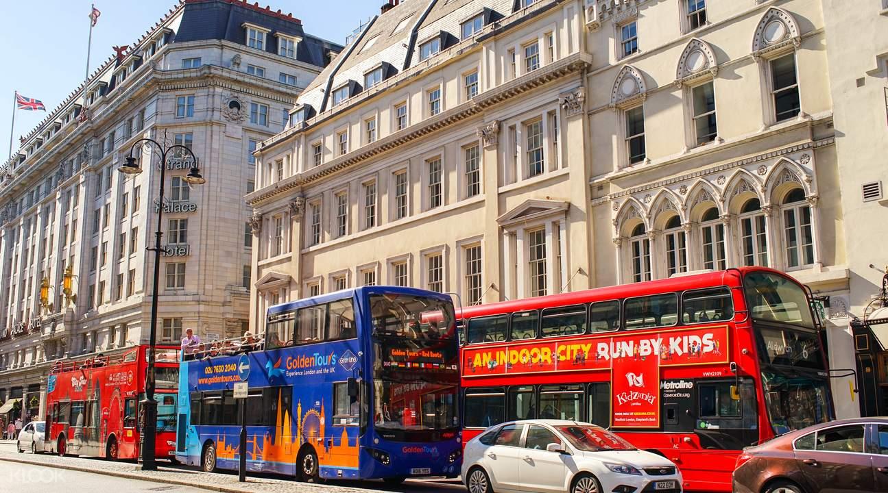 伦敦随上随下观光巴士