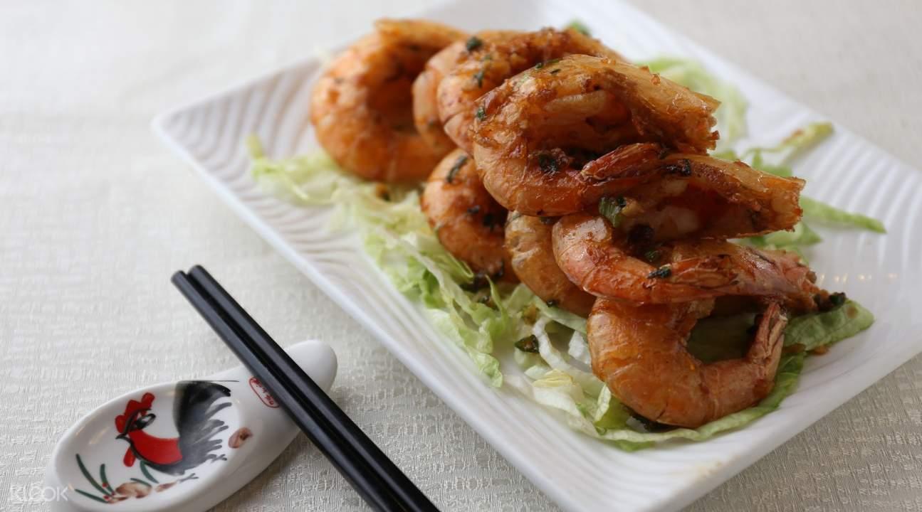 新鬥記米其林餐廳虎蝦