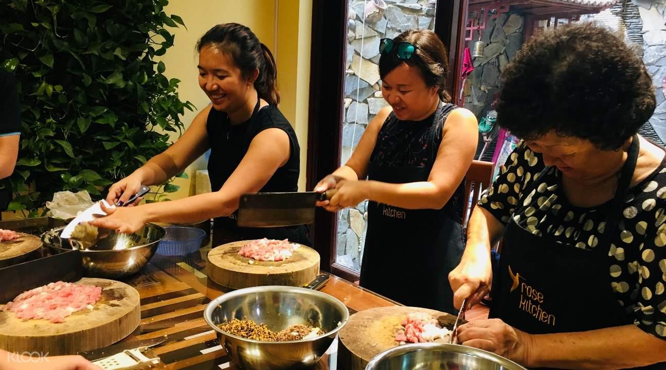 河內Rose Kitchen美食烹飪課