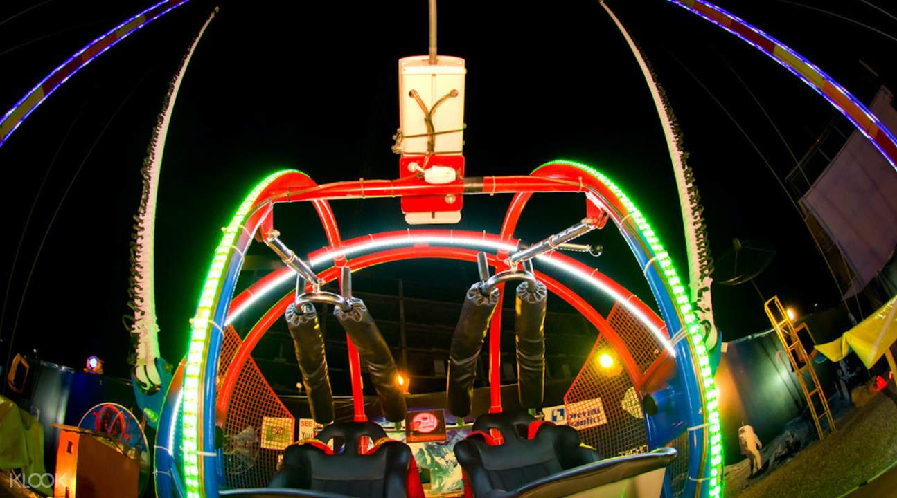 芭堤雅二重天火箭球体验(2SKY )
