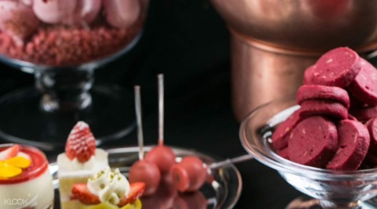 韩国草莓自助,首尔草莓自助,首尔自助餐,万豪酒店自助餐,韩国春季限定