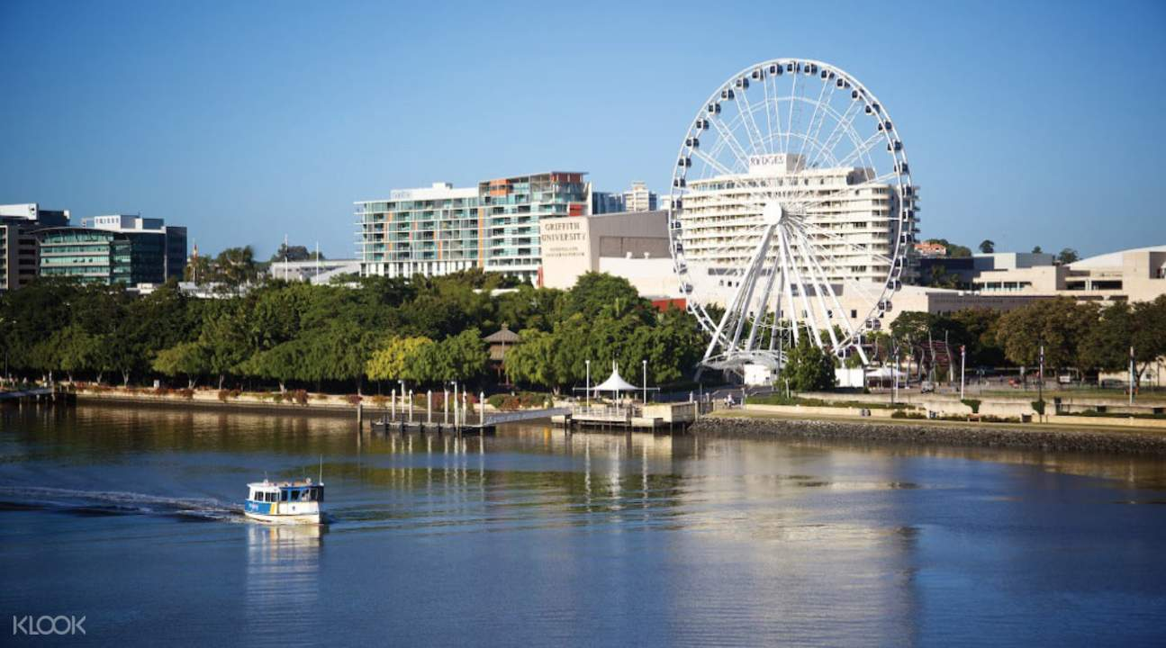 Brisbane City Tour with Cruise from Gold Coast