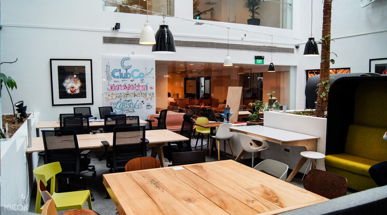 coworking space clubco telok ayer singapore
