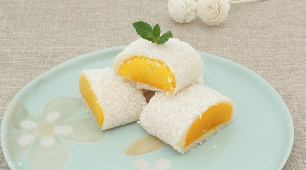 芒果糯米卷
