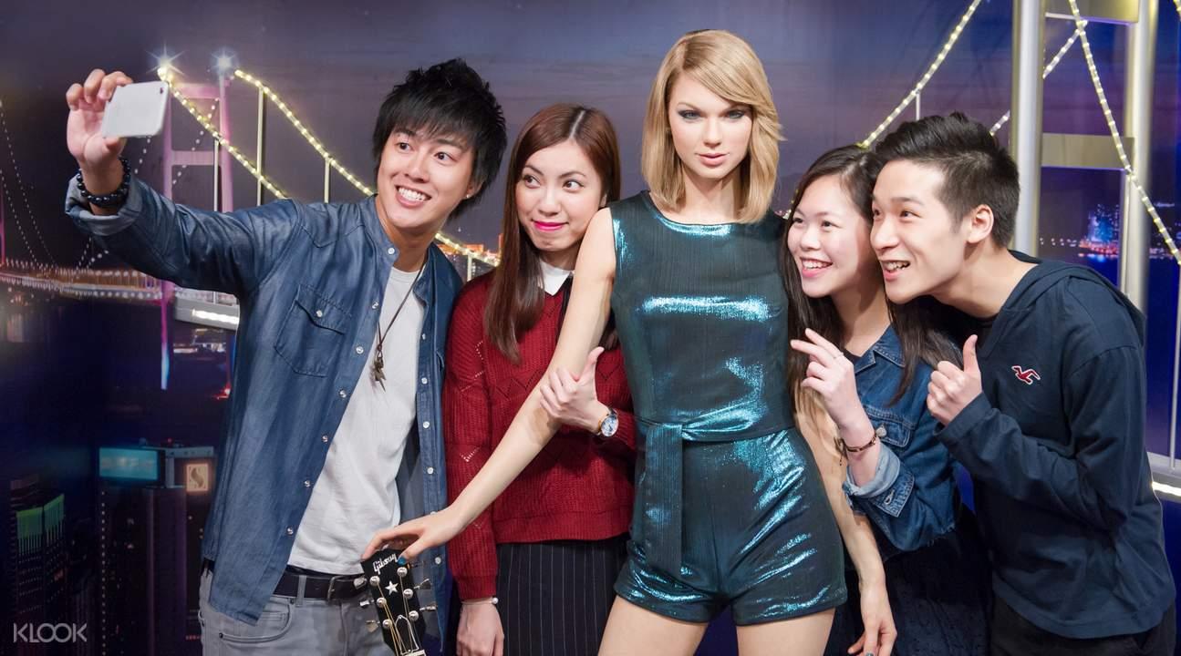 Celebrities at Madame Tussauds Hong Kong