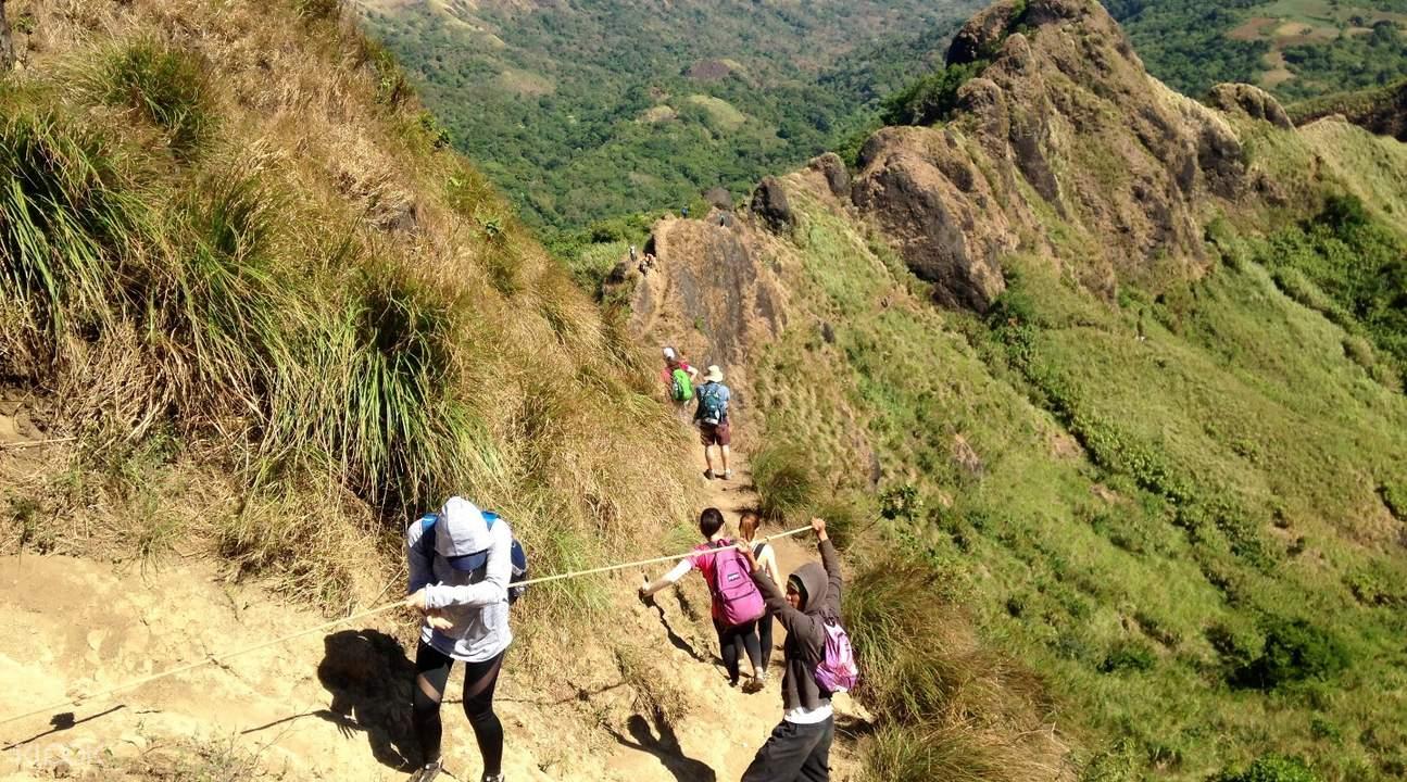 菲律宾八打雁巴图劳山mount batulao徒步探险
