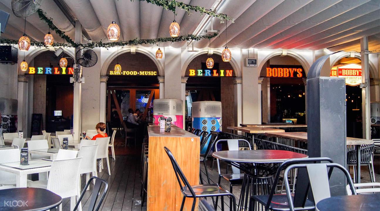 新加坡政府大廈讚美廣場Berlin Bar