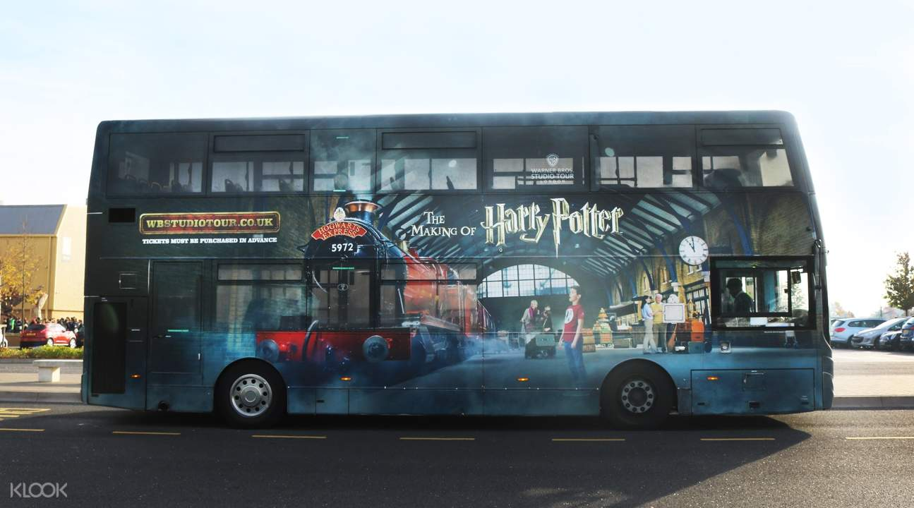 harry potter tour bus