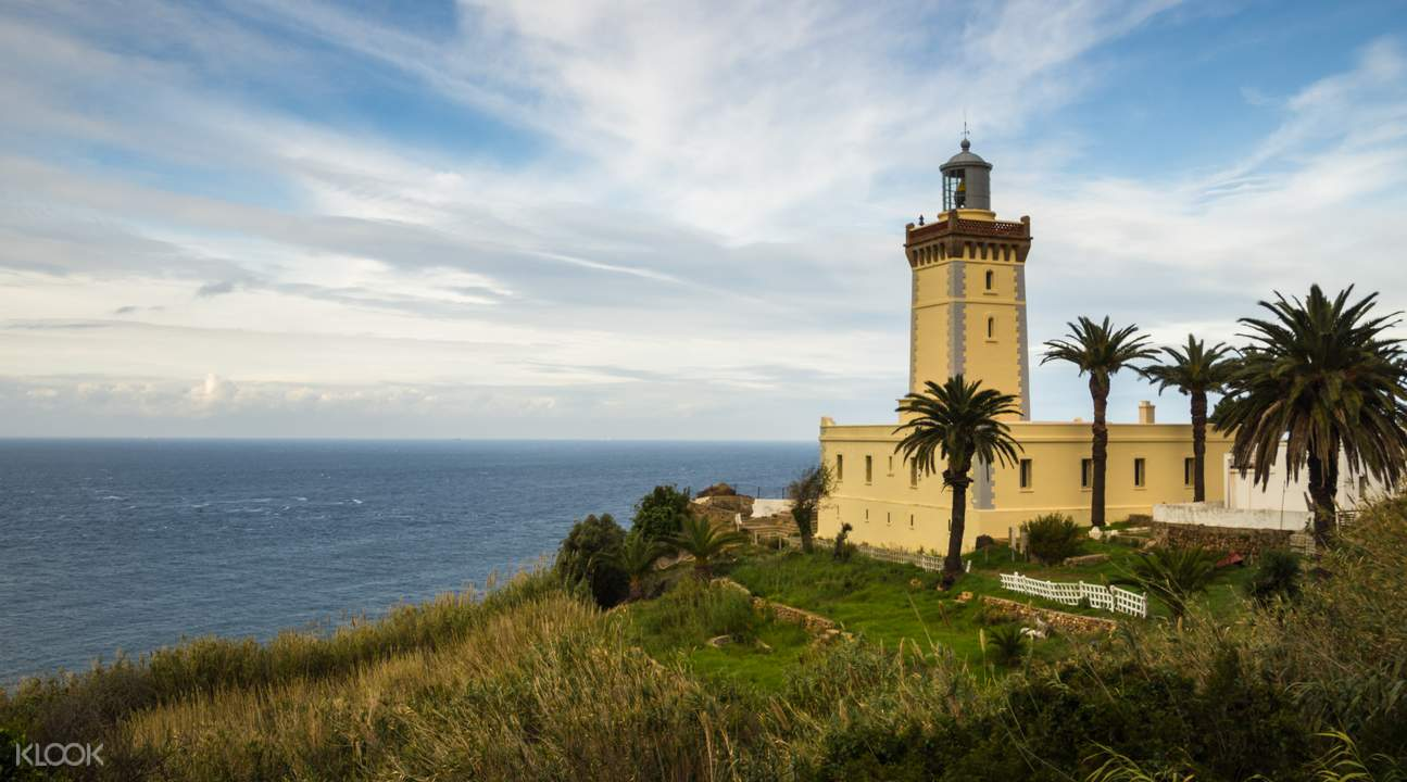 Cape Spartel Lighthouse at the gate of Gibraltar Strait