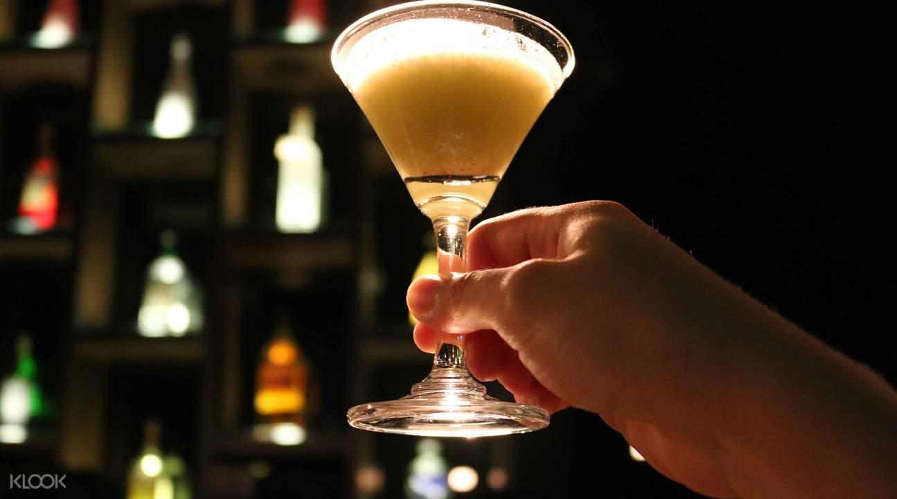 吉隆坡章卡暗之館歡迎飲品