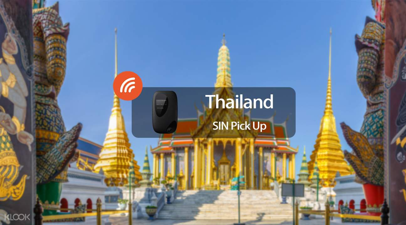 3.5G WiFi (SIN Pick Up) for Thailand