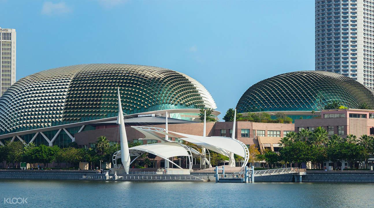esplanade mall secrets of the bay tour singapore